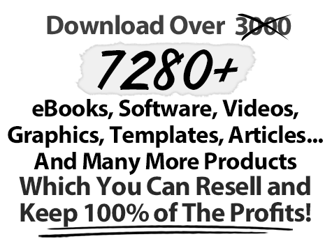 World's largest collection of PLR products; ebooks, software, videos, articles, tutorials and templates.