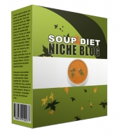 New Soup Diet Flipping Niche Blog Template with Personal Use/Flipping Rights