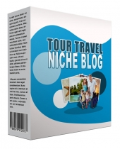 New Tour Travel Flipping Niche Blog Template with Personal Use/Flipping Rights