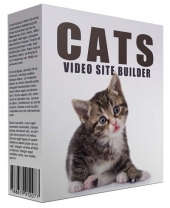 New Cats Video Site Builder Software with Master Resell/Giveaway Rights