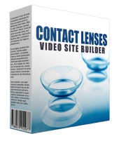 New Contact Lens Video Site Builder Software with Master Resell/Giveaway Rights