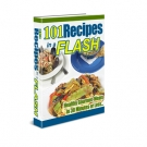 101 Recipes in a Flash eBook with Resell Rights