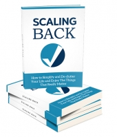 Scaling Back eBook with private label rights