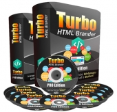 Turbo HTML Brander Pro Software with private label rights