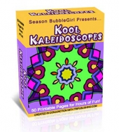 Kool Kaleidescopes Coloring Book eBook with Master Resell Rights