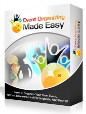 Event Organizing Made Easy Video with Master Resell Rights