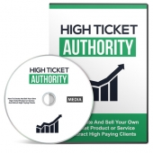 High Ticket Authority Gold Video with Master Resell Rights