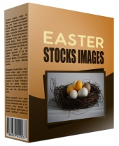 Easter Stock Images Graphic with Private Label Rights