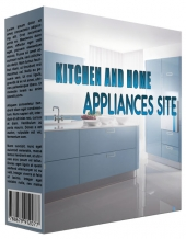 Kitchen and Home Appliance Review Website Template with Private Label Rights