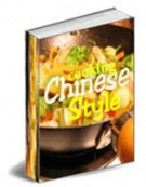 Cooking Chinese Style eBook with Master Resale Rights