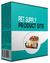 New Pet Supply Review Website Template with Private Label Rights