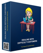 New Dealing With Difficult Customers eBook with Personal Use Rights