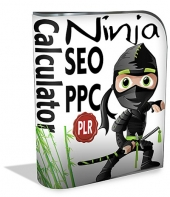 SEO and PPC Ninja Calculator Software with Master Resell Rights/Giveaway Rights