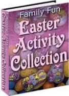Family Fun Easter Activity Collection eBook with private label rights