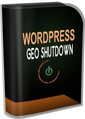 WP Geo Shutdown Software with Personal Use Rights
