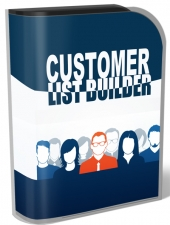 Customer List Builder Software with Master Resell Rights/Giveaway Rights