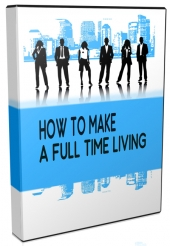 How I Make A Full Time Living Online Video with Personal Use Rights
