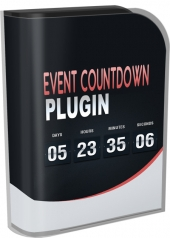 Regular Event Countdown Plugin Software with Personal Use Rights