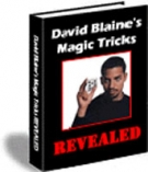 David Blaine's Magic Tricks Revealed eBook with Resell Rights