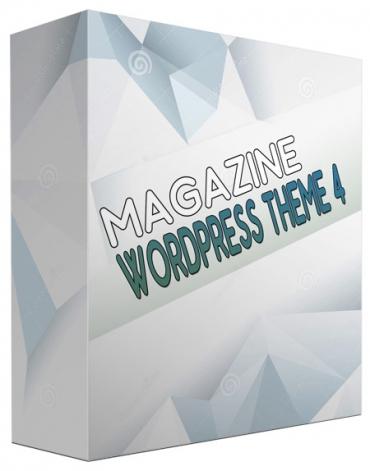 New Magazine WordPress Theme V4