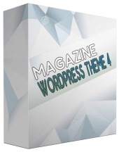 New Magazine WordPress Theme V4 Template with Personal Use Rights/Developers Rights