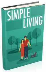Simple Living eBook with private label rights