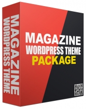 New Magazine WordPress Theme Pack Template with Personal Use Rights/Developers Rights