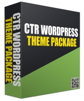 New CTR WordPress Theme Package Template with Personal Use Rights/Developers Rights