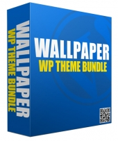 New Wallpaper WordPress Theme Bundle Template with Personal Use Rights/Developers Rights