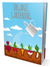 Organic Gardening eBook with private label rights