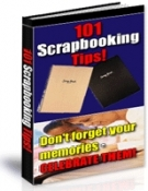 101 Scrapbooking Tips! eBook with Resell Rights