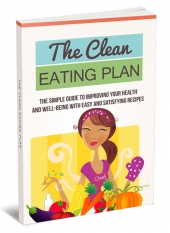 The Clean Eating Plan eBook with private label rights