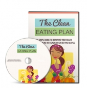 The Clean Eating Plan Gold Video with Master Resell Rights