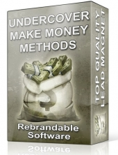 Under Cover Make Money Methods Software Software with Master Resell Rights/Giveaway Rights