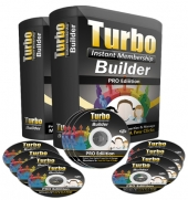 Turbo Instant Membership Pro Software with Personal Use Rights