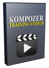 Kompozer Training Video Series 2016 Software with Private Label Rights/Master Resell Rights/Giveaway