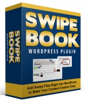 WP Swipe Book Plugin Software with Personal Use Rights