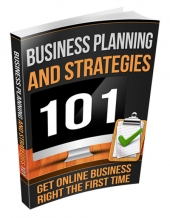 Business Planning and Strategies eBook with private label rights