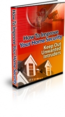 How To Improve Your Home Security eBook with Resell Rights