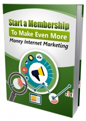Start A Membership eBook with Private Label Rights
