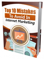 Top 10 Mistakes To Avoid In IM eBook with Master Resell Rights/Giveaway Rights