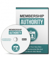 Membership Authority Gold Video with Master Resell Rights