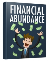 Financial Abundance eBook with private label rights