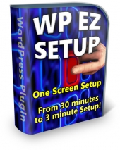WP EZ Setup Software with private label rights