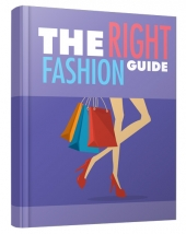 The Right Fashion Guide eBook with private label rights