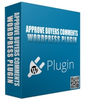 Approve Buyers Comments WP Plugin Software with Personal Use Rights