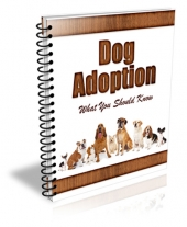 New Dog Adoptation PLR Newsletter Template with Private Label Rights