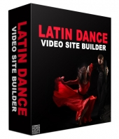 Latin Dance Video Site Builder Software Software with Master Resell Rights/Giveaway Rights