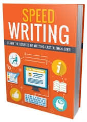 Speed Writing eBook with Personal Use Rights