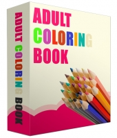 Adult Coloring Book Images Graphic with Personal Use Rights